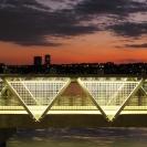 Hudson River Park Footbridge